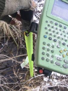 Вынос точек с помощью GPS